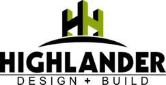 highlander design + built logo