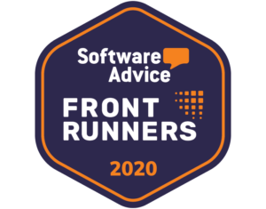 Software Advice FrontRunner Badge for Premier Construction Software